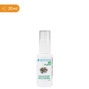 Oemine D3, complément alimentaire naturel destiné à apporter de la vitamine D3 végétale